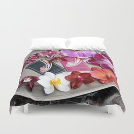 A Collector's Plate Duvet Cover
