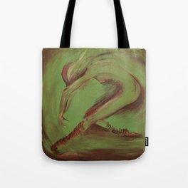 Dancer green Tote Bag