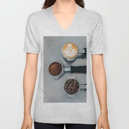 Coffee Lover Unisex V-Neck