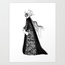 The Norse Goddess Snotra Art Print