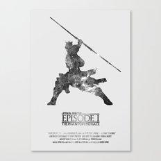 Star Wars - The Phantom Menace Canvas Print