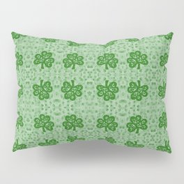 Irish Clover Pillow Sham