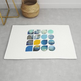 Cold Comfort Collage — The Blues Rug