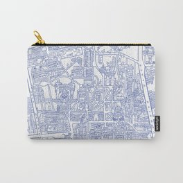 PRINCETON university map NEW JERSEY dorm decor Carry-All Pouch