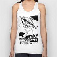 led zeppelin Tank Tops featuring Zeppelin by Saskia Juliette