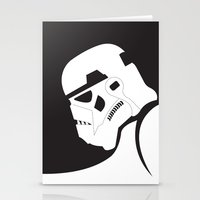 stormtrooper Stationery Cards featuring Stormtrooper by NRees