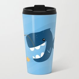 The Mouth That Feeds Travel Mug