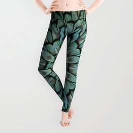 Attractive Peacock Feathers Kaleidoscope Leggings