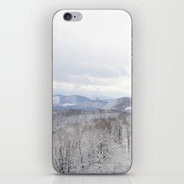 Winter in Transylvania iPhone Skin