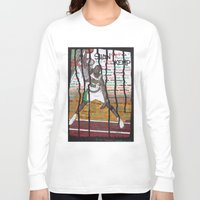 nba Long Sleeve T-shirts featuring NBA PLAYERS - Shawn Kemp by Ibbanez