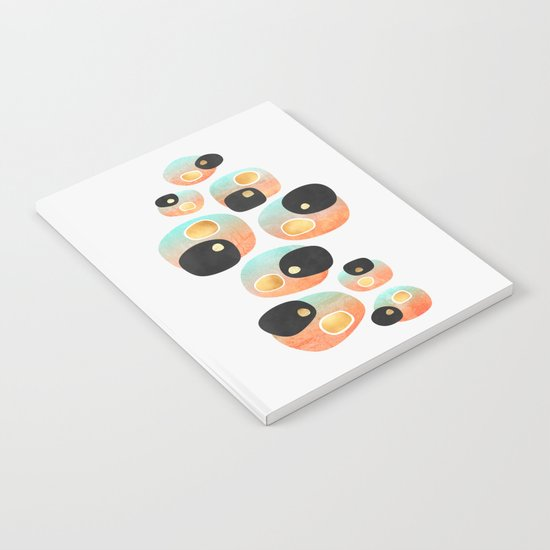 Tropical Pebbles Notebook