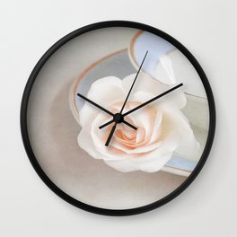 The Sweetest Rose Wall Clock
