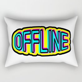 Offline Rectangular Pillow