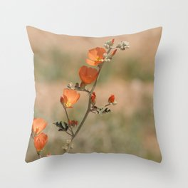 Desert Wildflower - 1 Throw Pillow