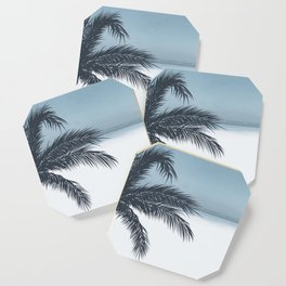 Palm and Ocean Coaster
