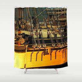 Ship Detail Shower Curtain