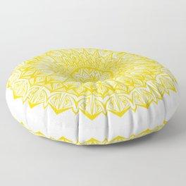 Royal-Yellow Floor Pillow