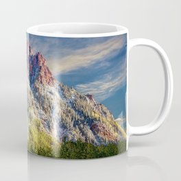 First Snow Maroon Bells Coffee Mug
