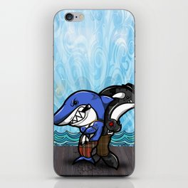 The Thugs of the Sea iPhone Skin