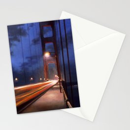 Straight Until Night Stationery Cards