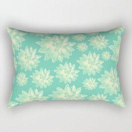 Pattern of succulents Rectangular Pillow