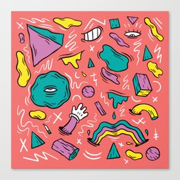 Fun House Canvas Print