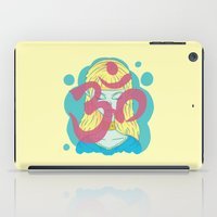 om iPad Cases featuring Om by Monstruonauta