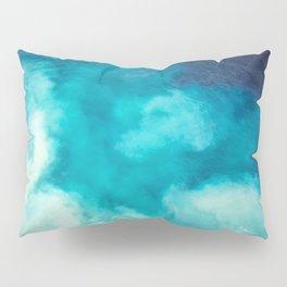 Caribbean Blues Pillow Sham