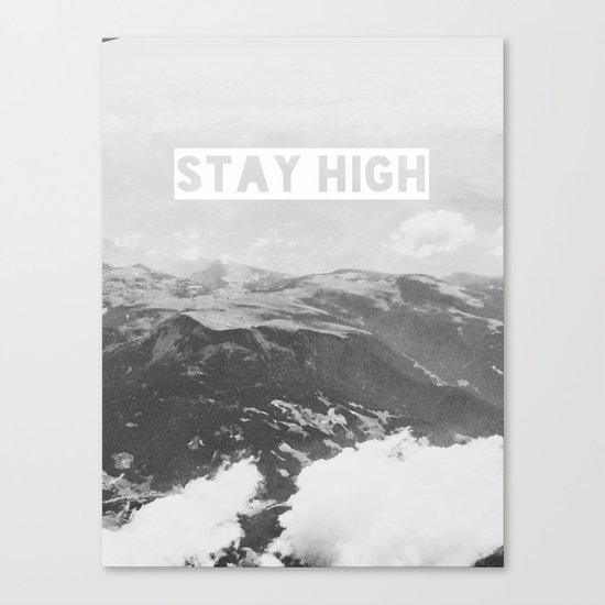 Stay High II Canvas Print