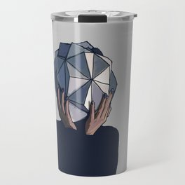 Mujer poliedro Travel Mug