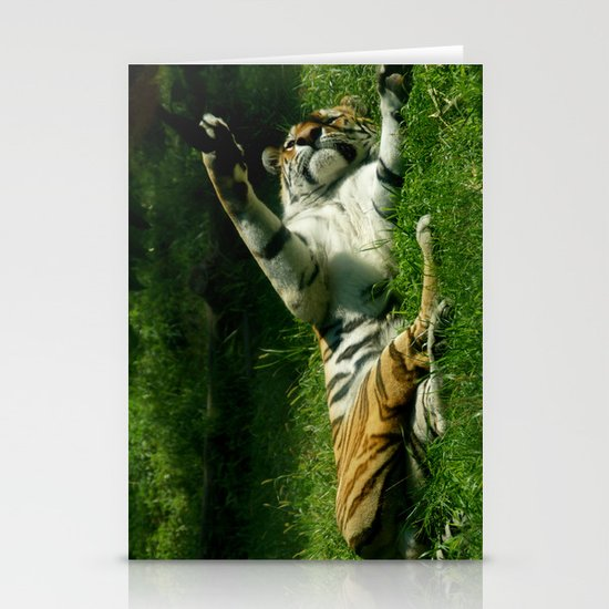 Resting Tiger Stationery Cards