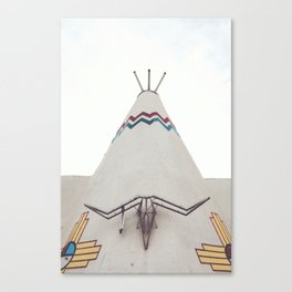 Tucumcari Curiosities Canvas Print