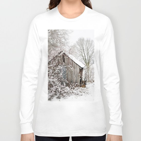The Wooden Shed Long Sleeve T-shirt