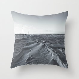 Country Road 3 Throw Pillow