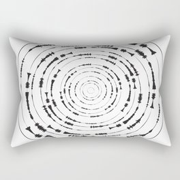 I Wouldn't Normally Do This Type Of Thing (the Rite of Spring) Rectangular Pillow