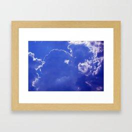 Clouds over Baden-Wurttemberg Framed Art Print