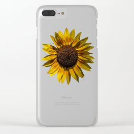 Sun's Flower Clear iPhone Case