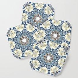 Blue fruit Coaster