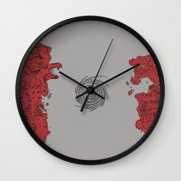 Map of Classic WoW - Vanilla Azeroth (Horde) Wall Clock