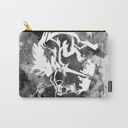 GREYSCALE CREST Carry-All Pouch