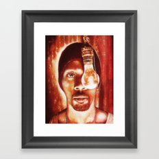 The RZA Framed Art Print
