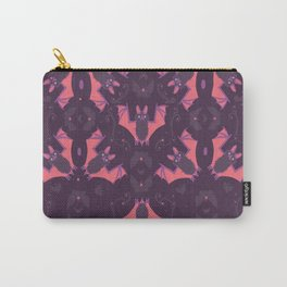 Bat Damask Carry-All Pouch