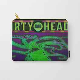 Dirty Heads Psychedelic Octopus #2 Colorful Trippy Vibrant Character Design Carry-All Pouch