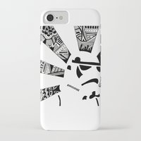storm trooper iPhone & iPod Cases featuring Storm Trooper by Meg Langmyer