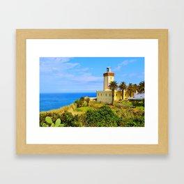 Cape Spartel Lighthouse Framed Art Print