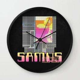 Zebes; 2075 CC Wall Clock