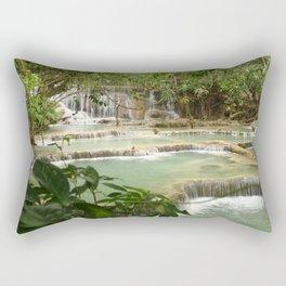 Zen Waterfalls Harmony #2 Rectangular Pillow