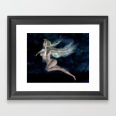 Dancing Free Style Framed Art Print