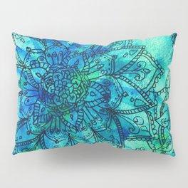 Blue is the Colour of Calm. Pillow Sham