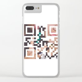 DIS//CONNECT Clear iPhone Case